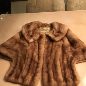 Jackets & Blazers - Vintage Mink Fur Stole